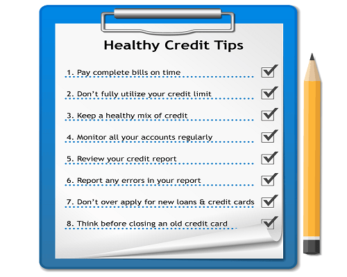 What Is A Good Credit Score Credit Com >> How to maintain a good Credit History?