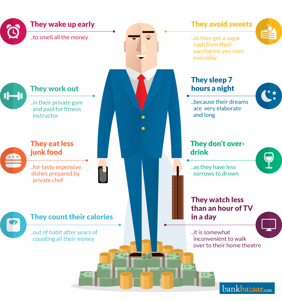 8 Healthy Habits Of The Rich