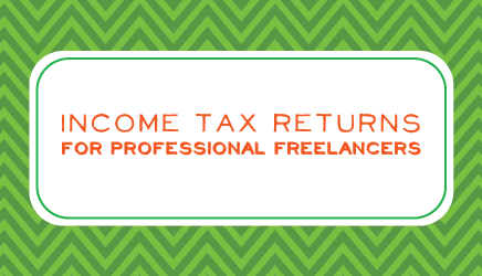 Income Tax Returns for Professional Freelancers