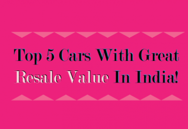 Top 5 Cars With Great Resale Value In India