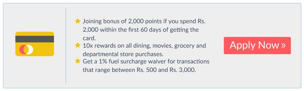 Credit Cards If You're Earning Less Than Rs. 20,000 Per Month