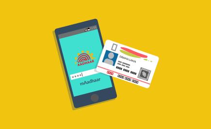 UIDAI Launches mAadhaar App