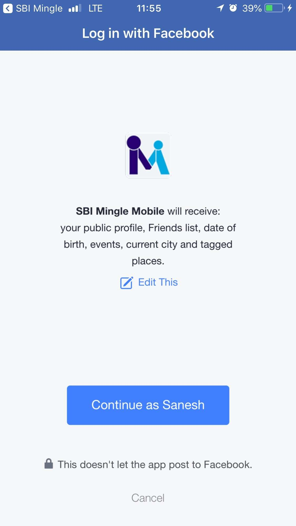 Mingle city login