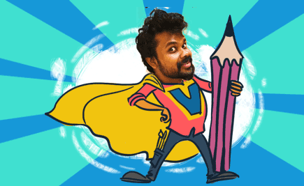 Have You Met Our Superhero Designer - Vishnu Madhav?