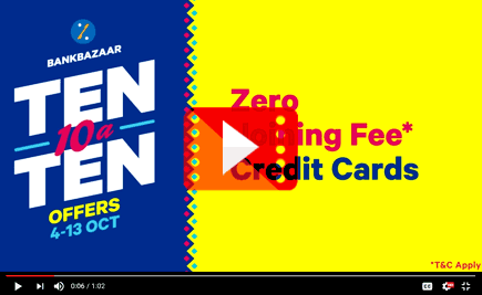Ten-10-a-Ten Offers - Credit Cards