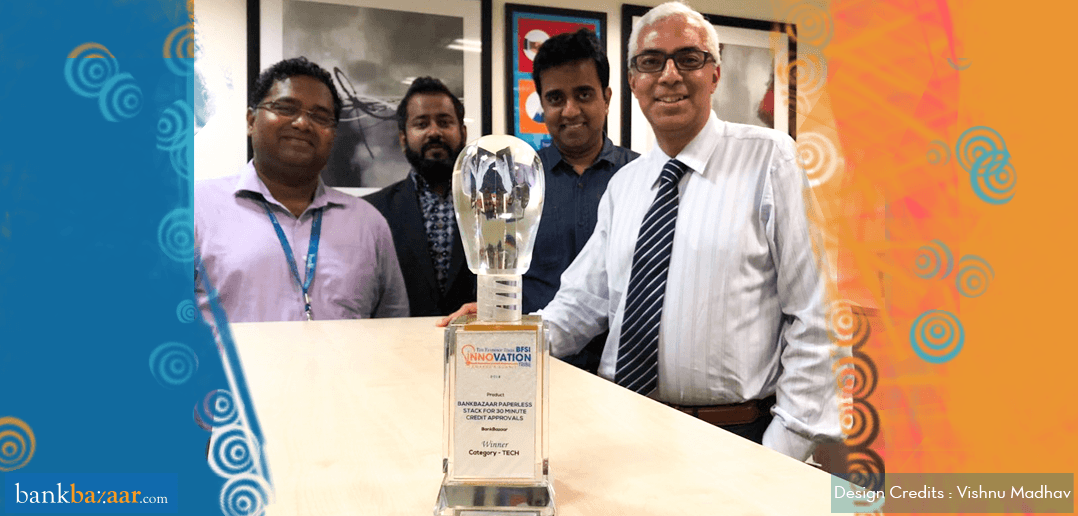 Take A Bow! BankBazaar Wins The ET Innovation Tribe Award