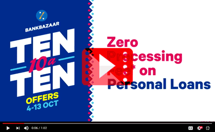 Ten-10-A-Ten Offers - Personal Loan