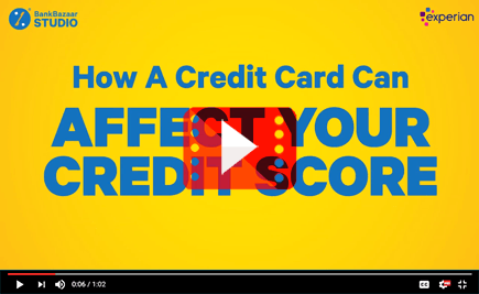 Your Credit Card Can Affect Your Credit Score!